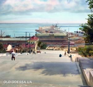 1931г.Одесса.Потёмкинская лестница.