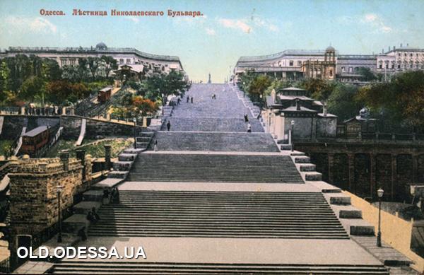 Одесса.Потёмкинская лестница.