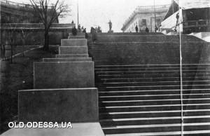 Одесса.Потёмкинская лестница после реставрации.