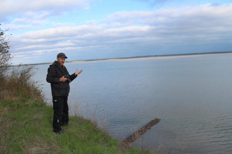Обрывистый берег с.Лебедёвка