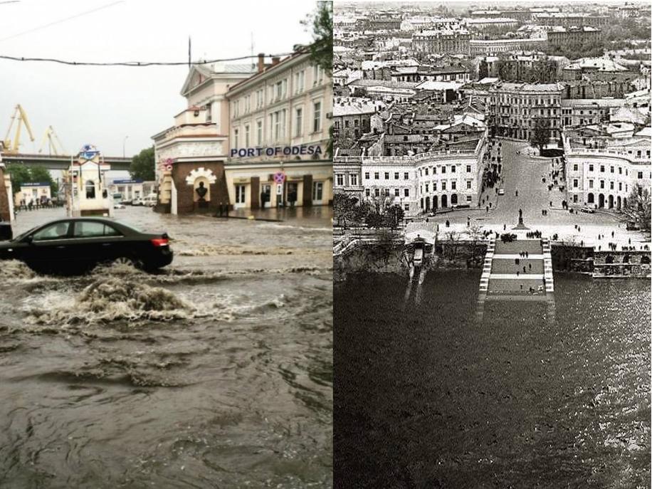 Одесса наводнение