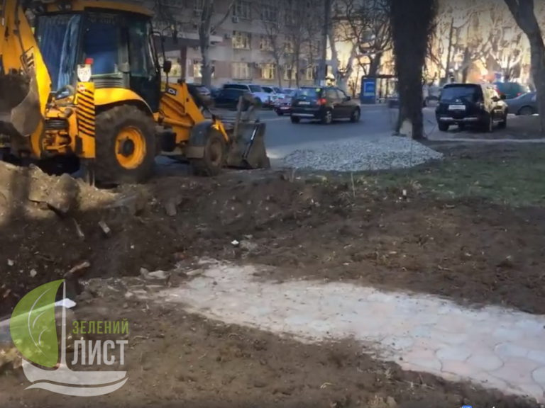 Захват зеленой зоны на проспекте Шевченка, 25_2 (2)