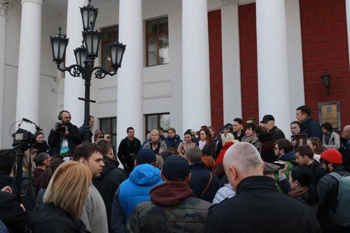 Одесские активисты: Мы не можем отдать Летний под капитальное строительство