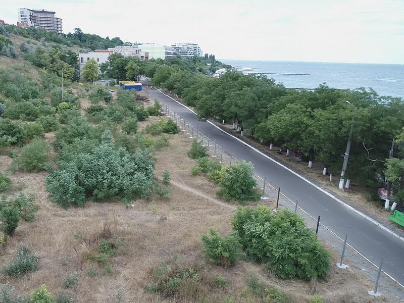 Береукрепление или высотки Одесские активисты сняли новую стройку с дрона